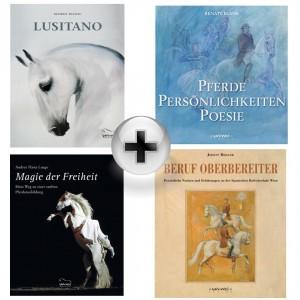 Mega Bundle: 4 opulente Bücher Edition Wu Wei incl. Musik CD