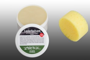 ZWEKK Leder-Balsam 180 ml mit Bienenwachs, Farblos Reitsport-Leder-Pflege