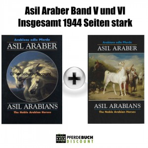 Asil Araber Band V + VI - 2 Bücher im Paket