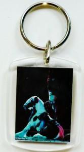Plexiglas Schlüsselanhänger mit Pferdemotiv 014