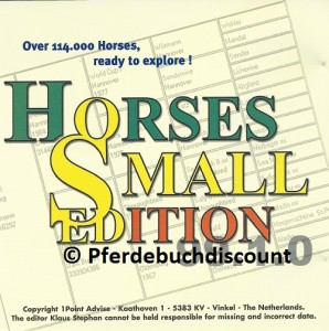 CD-ROM: Horses Small Edition - Over 114.000 Horses, ready to explore