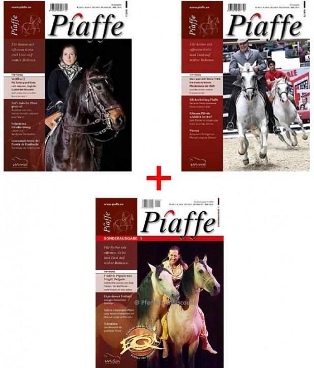 Piaffe Paket mit 3 Ausgaben 22,23 und Sonderausgabe 1
