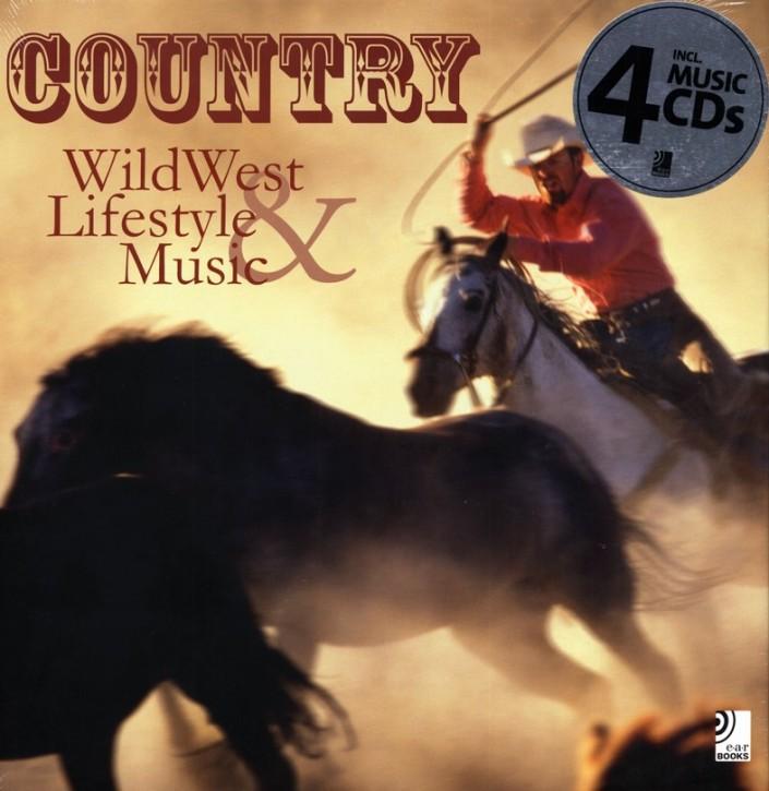 Country - Wildwest Lifestyle - Music - Buch & 4 Music CD´s mit 2 Std, 24 Min. Laufzeit