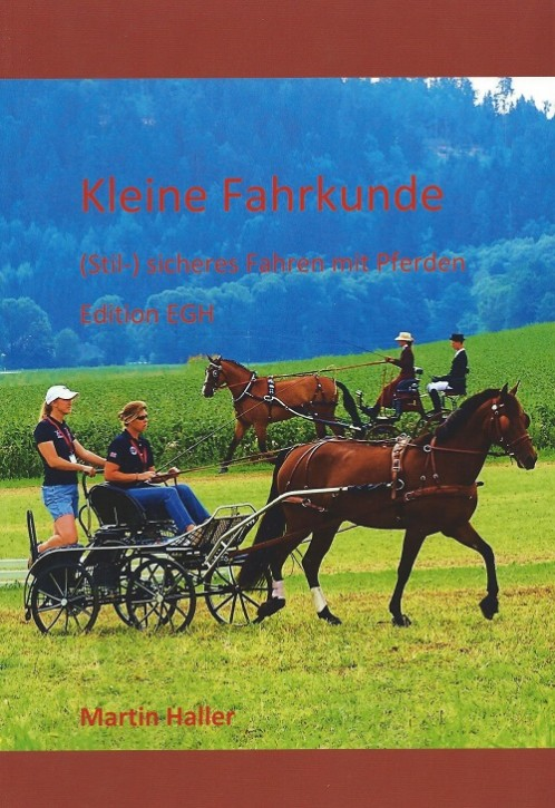 Martin Haller - Kleine Fahrkunde - Sicheres Fahren mit Pferden - Mängelexemplar