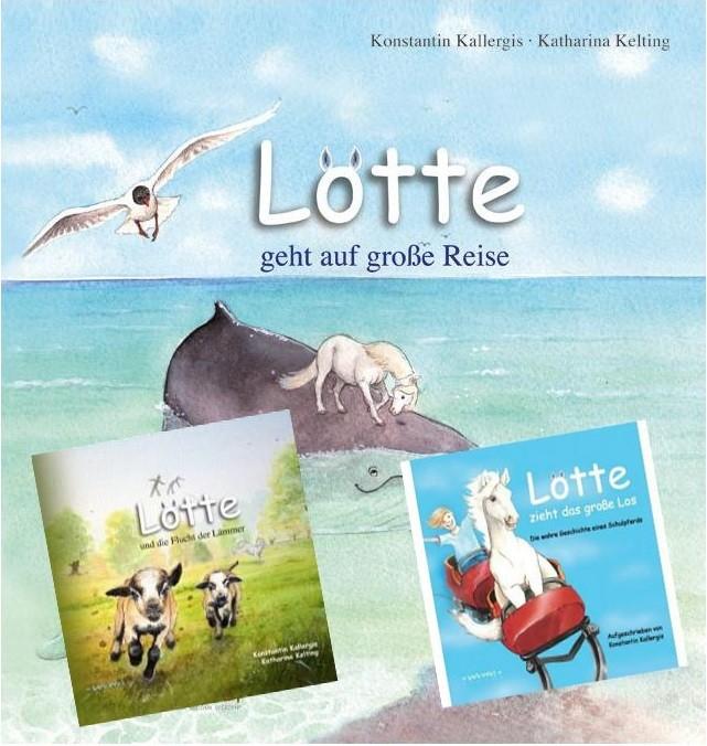 3 verschiedene Lotte Kinderbücher im Set