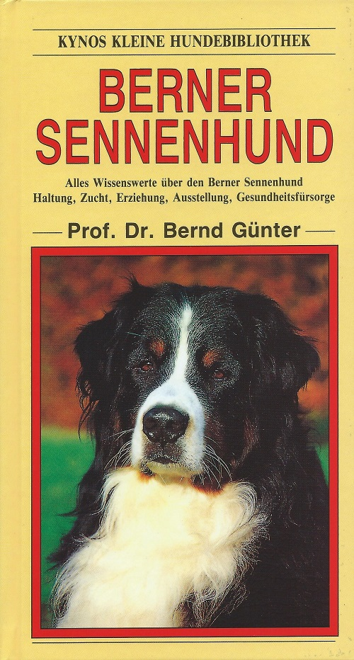 Prof. Dr. Bernd Günter - Berner Sennenhund