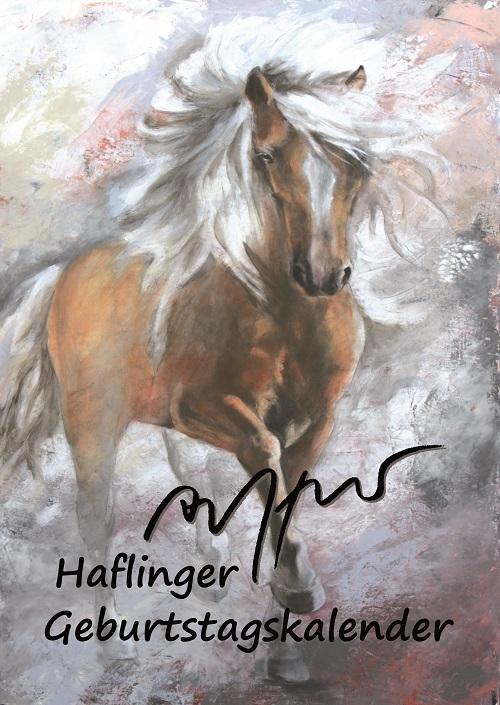 Geburtstagskalender  - Haflinger - Thomas Aeffner