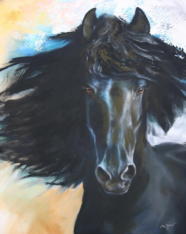 "Kunstdruck Thomas Aeffner: ""Black Beauty"" AKTIONSPREIS"