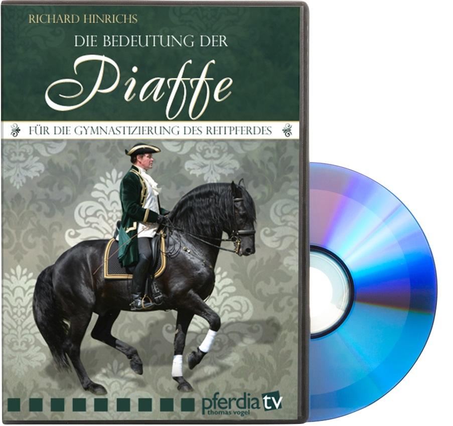 DVD Richard Hinrichs - Die Bedeutung der Piaffe für die Gymnastizierung des Reitpferdes