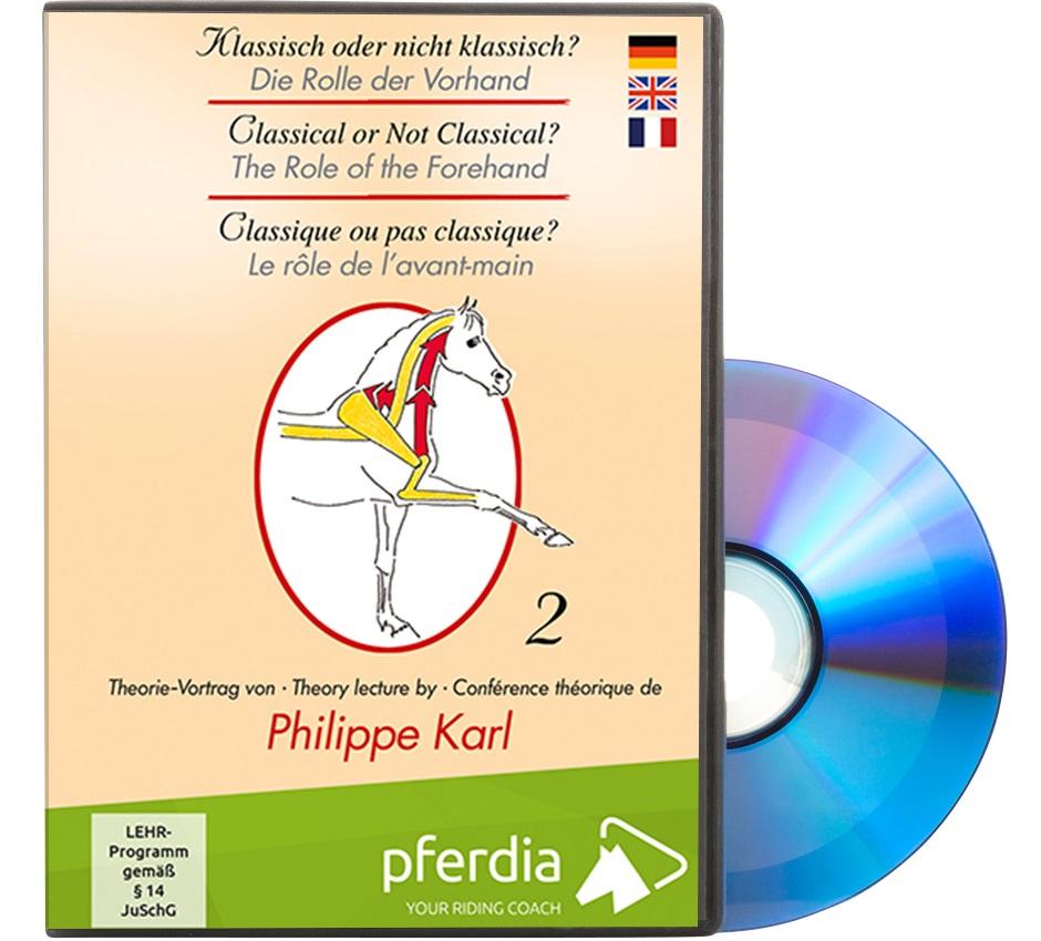 DVD Philippe Karl Deutsch/Englisch/Französisch  Theorie-Vortrag 2 - Die Rolle der Vorhand