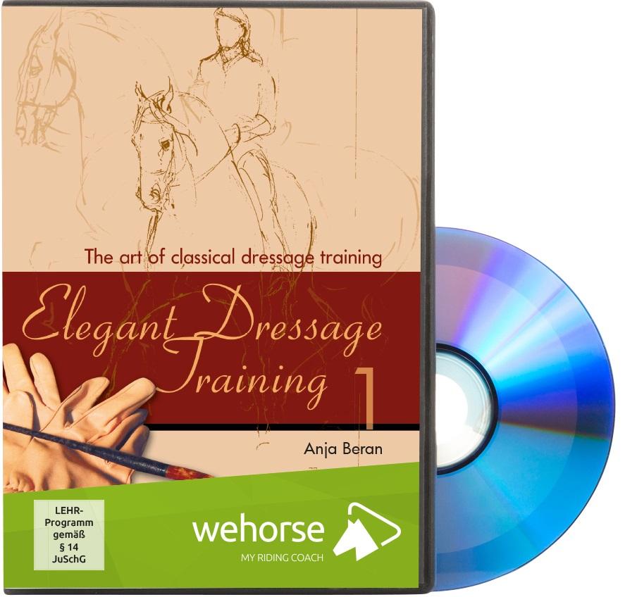 DVD Anja Beran - Elegant Dressage Training Part 1