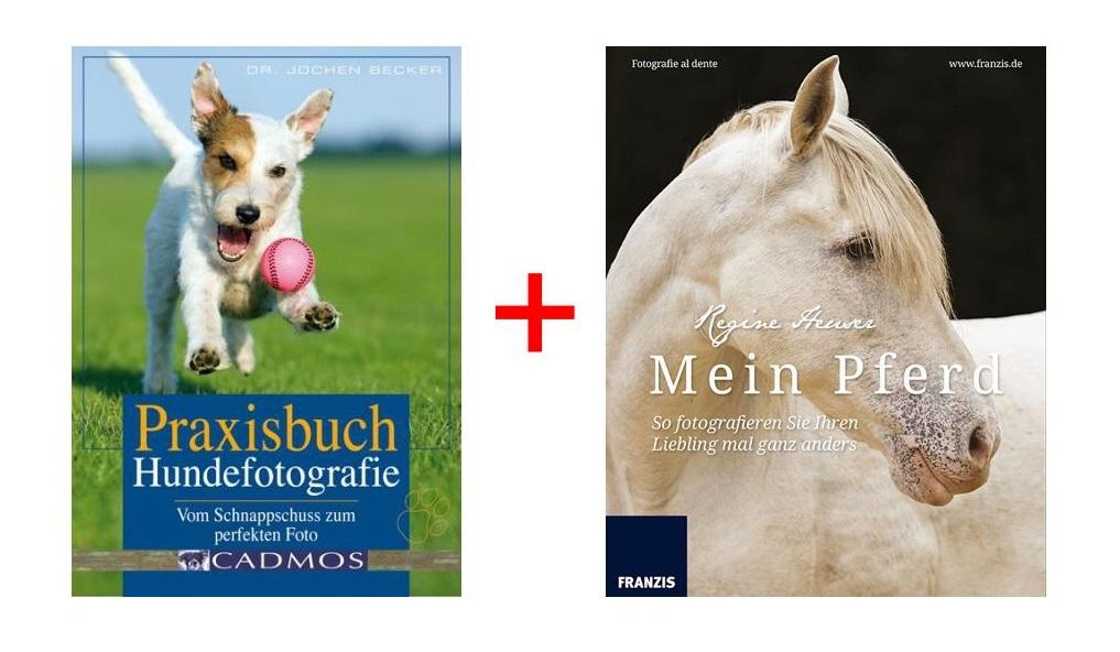 Pferde- und Hundefotografie Buchpaket 2 Titel
